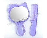 plastic comb with mirror LJ3625