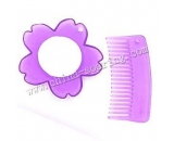 plastic comb with mirror LJ3619