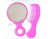 plastic comb with mirror LJ3622