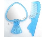 plastic comb with mirror LJ3623