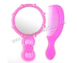 plastic comb with mirror LJ3624