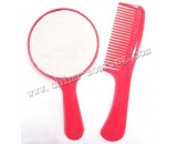 plastic comb with mirror LJ3628