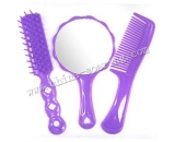 plastic comb with mirror LJ3629